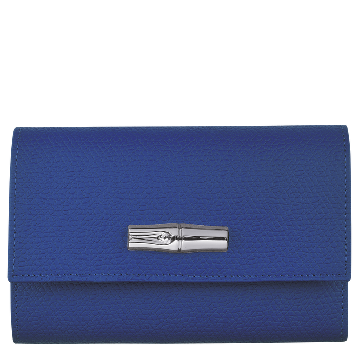 Compact wallet, Blue - View 1 of  2 - zoom in