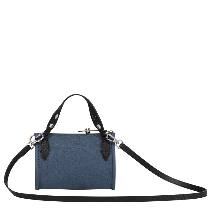 Crossbody bag, Pilot Blue/Black/Chalk, hi-res - View 3 of 3