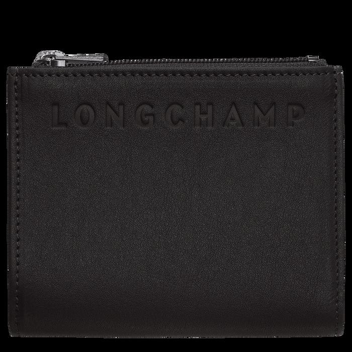 Brieftasche im Kompaktformat, Schwarz - Ansicht 1 von 2 - Zoom vergrößern