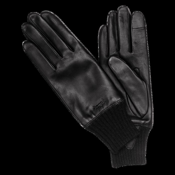 Herrenhandschuhe, Schwarz/Ebenholz - Ansicht 1 von 2 - Zoom vergrößern
