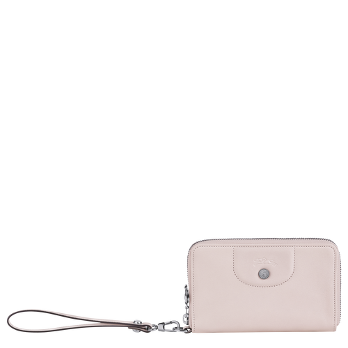 Portefeuille compact Le Pliage Cuir Rose Pâle (L3622757P53) | Longchamp BE