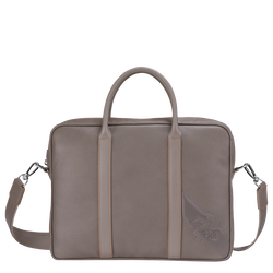 Briefcase XS, Taupe
