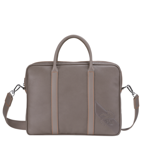 Briefcase XS, Taupe - View 1 of 3 -