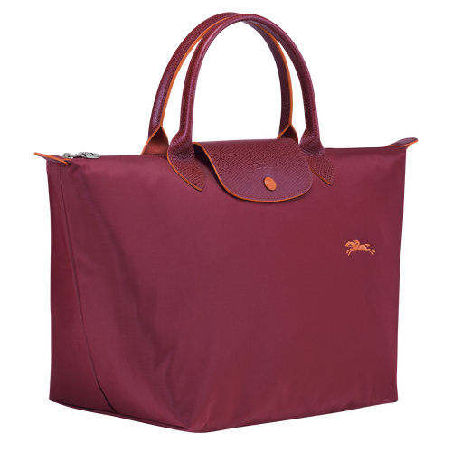 Top handle bag M, Garnet red - View 2 of  7 -