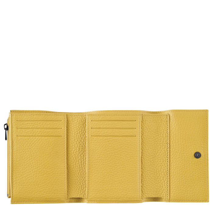 Compact wallet, Yellow - View 2 of  2 - zoom in