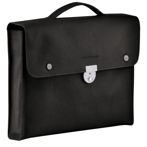 View 2 of Briefcase S, Black, hi-res