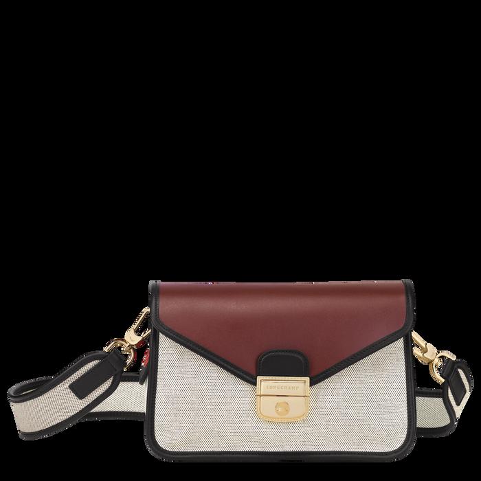 Mademoiselle Longchamp Crossbody bag S, Ecru