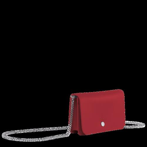鍊帶錢包, 紅色, hi-res - View 2 of 3