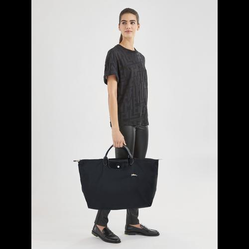 Travel bag L, Black, hi-res - View 2 of 4