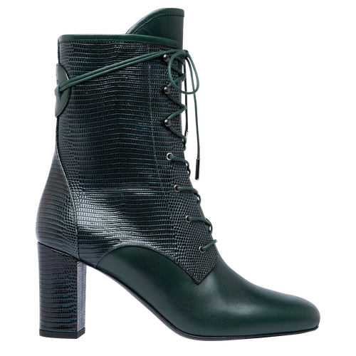 Ankle boots, Longchamp Green - View 1 of  2 -
