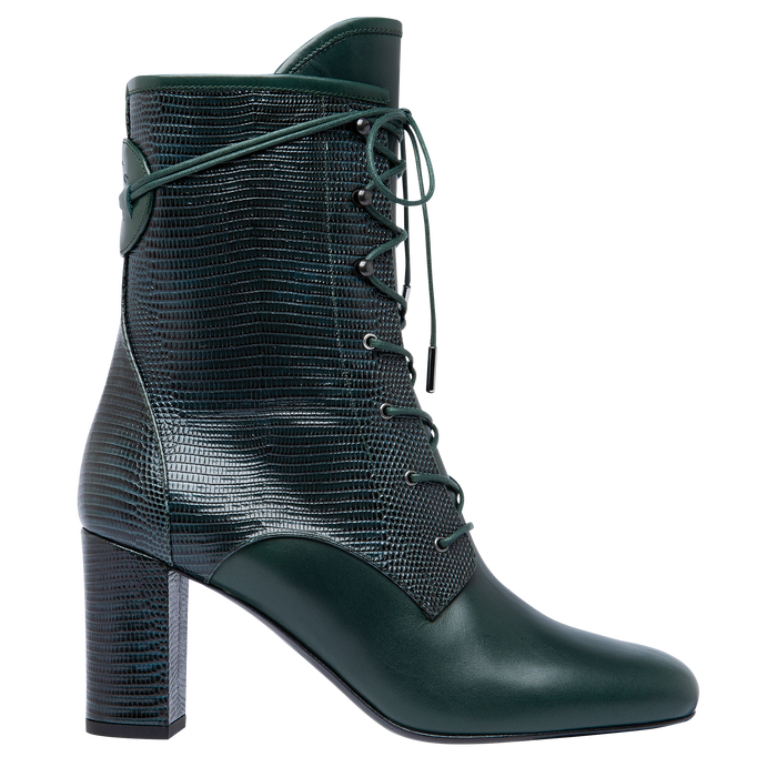 Ankle boots, Longchamp Green - View 1 of  2 - zoom in