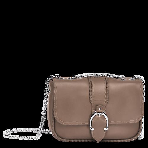 Shoulder Bag S, 015 Taupe, hi-res