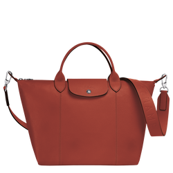 Top handle bag M, Sienna