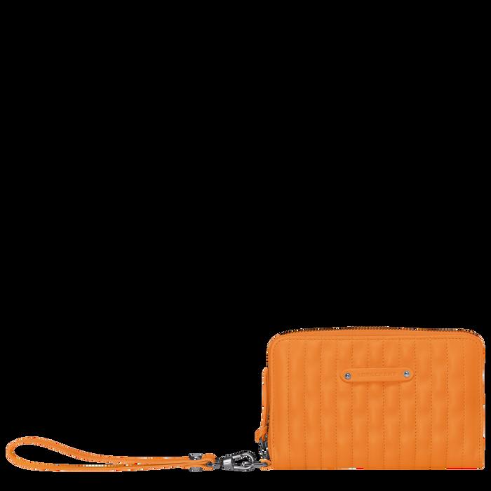 Portefeuille compact, Orange, hi-res - Vue 1 de 2