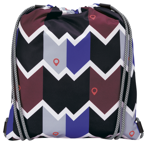 Backpack, Mahogany/Blue - View 3 of  3 -