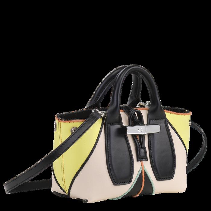 Top handle bag S, Yellow, hi-res - View 2 of 4