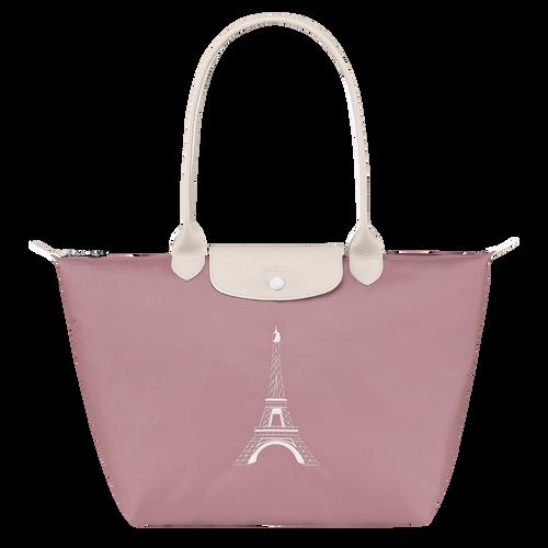 官網獨家限定 Le Pliage Club 肩揹包L, 藕粉色