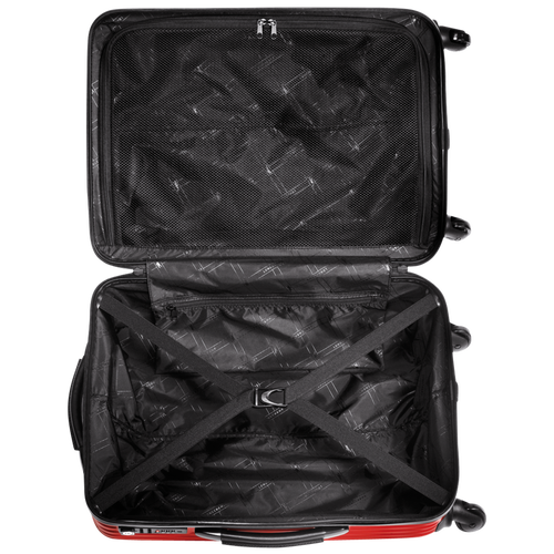 Koffer, Rood - Weergave 3 van  3 -