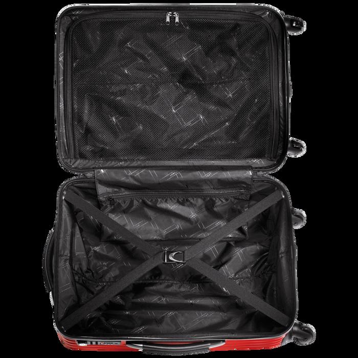 Koffer, Rood - Weergave 3 van  3 - Meer inzoomen.