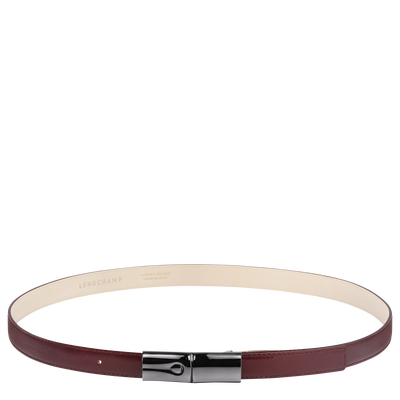 Ladies' belt, Red lacquer, hi-res