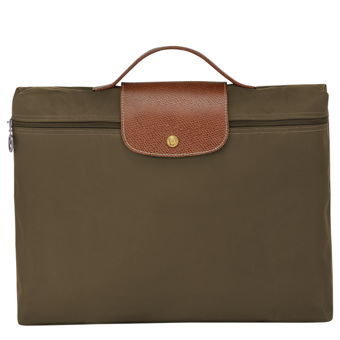 Briefcase S, Khaki - View 1 of  4 - zoom in