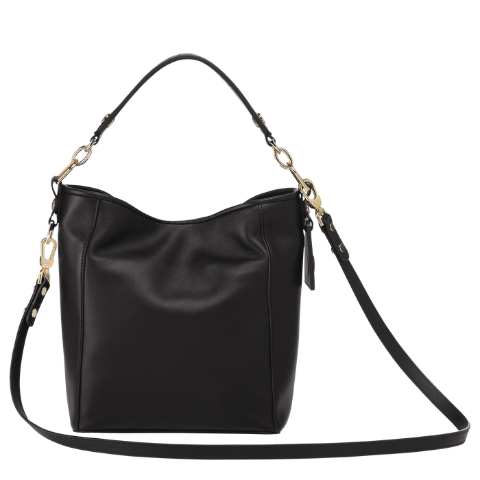 Bucket bag S, Black/Ebony - View 3 of  3 - zoom in
