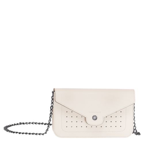 View 1 of Wallet on chain, Ivory, hi-res