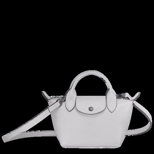 Top handle bag XS Le Pliage Cuir Grey (L1500757263) | Longchamp DK