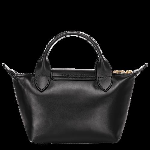 View 3 of Mini top-handle bag, Black, hi-res