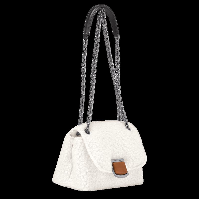 Brioche Crossbody bag S, Ivory