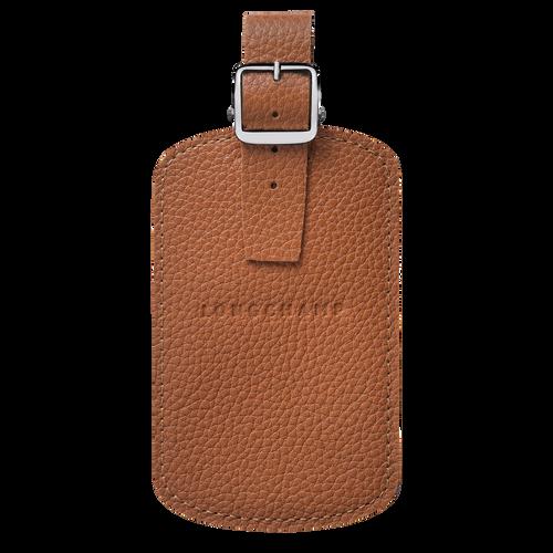 Le Foulonné Luggage tag, Caramel