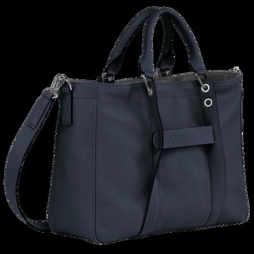 Top handle bag M, Midnight blue, hi-res - View 2 of 3