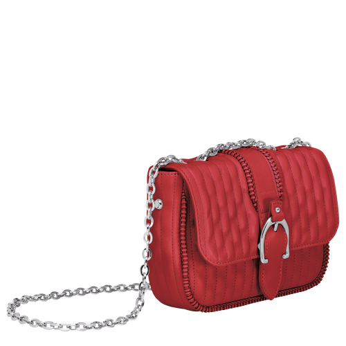 Crossbody bag XS, Red - View 2 of  3 -