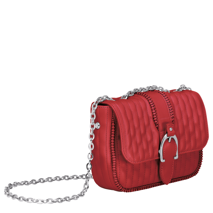 Crossbody bag XS, Red - View 2 of  3 - zoom in