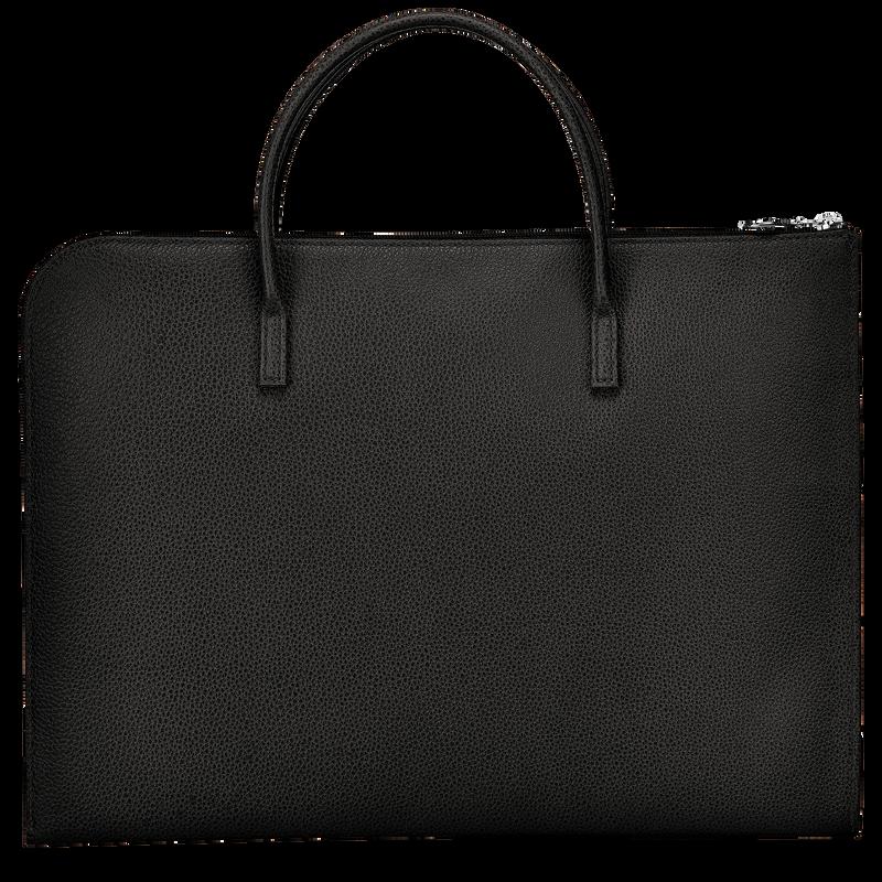 Le Foulonné Briefcase S, Black