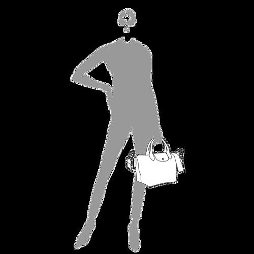 Top handle bag S, Black - View 4 of 5 -