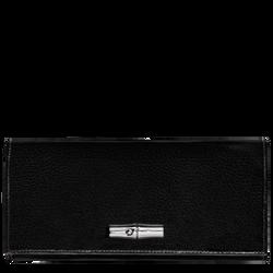Langformat Brieftasche mit Überschlag
