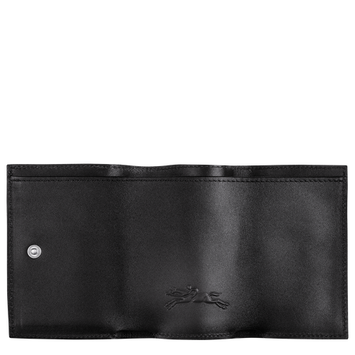 Le Pliage LGP Compact wallet, Black/White