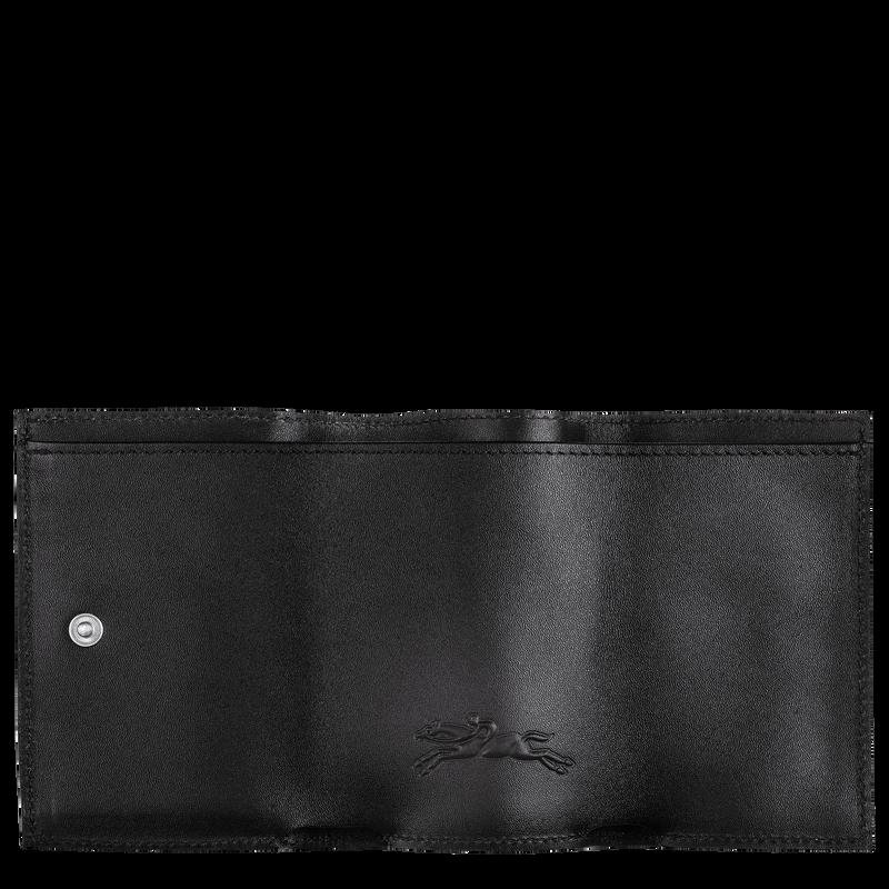 Le Pliage LGP Compact wallet, Black/White