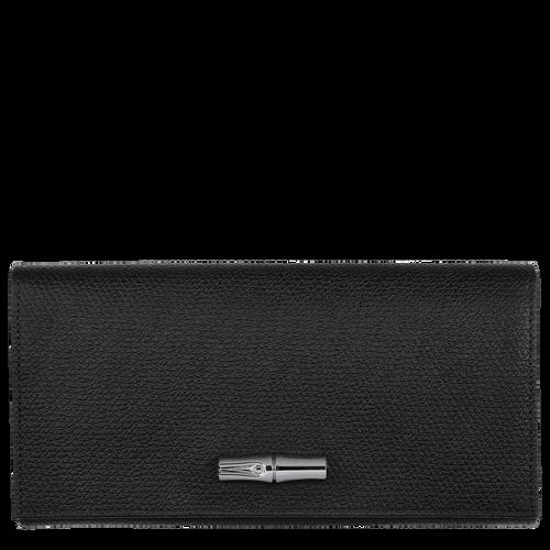 Portefeuille long à rabat Roseau Noir (L3146HPN001) | Longchamp CH