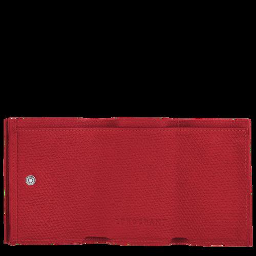 컴팩트 지갑, 레드 - 2 이미지 보기 2 -