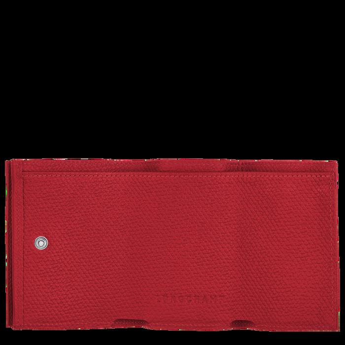 컴팩트 지갑, 레드 - 2 이미지 보기 2 - 확대하기