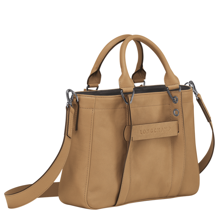 Longchamp 3D Top handle bag S, Cumin