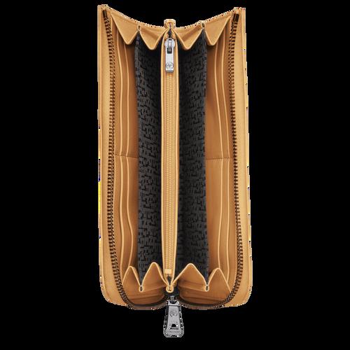 Portefeuille long zippé, Miel, hi-res - Vue 2 de 2