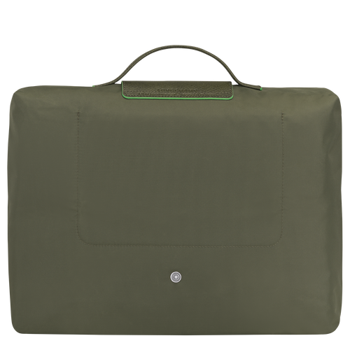 Briefcase S, Longchamp Green - View 3 of  5 -