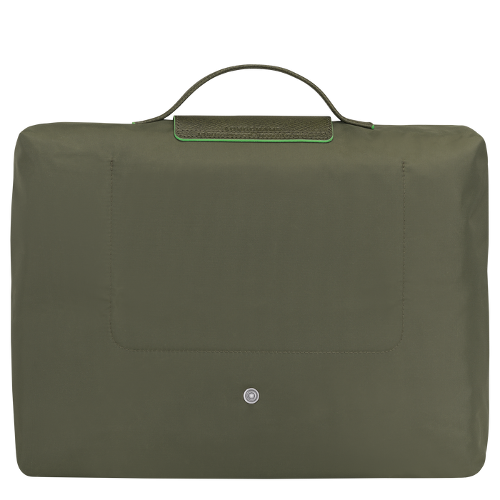Briefcase S, Longchamp Green - View 3 of  5 - zoom in