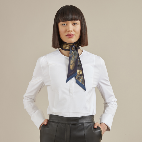 Fall-Winter 2021 Collection Silk ribbon, Gold