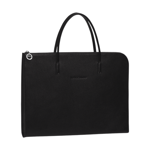 Briefcase S, Black, hi-res - View 1 of 3