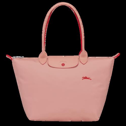 Le Pliage Club Sac porté épaule L, Rosé