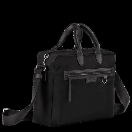 Briefcase, Black/Ebony - View 2 of 4 -